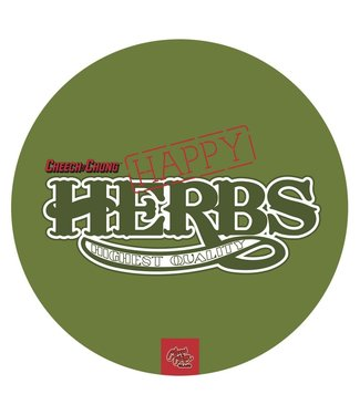 "Cheech & Chong My Dab Mat - Cheech & Chong - Happy Herbs, 11"" Silicone"