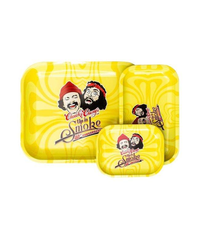 Cheech & Chong Cheech & Chong Rolling Tray - Yellow