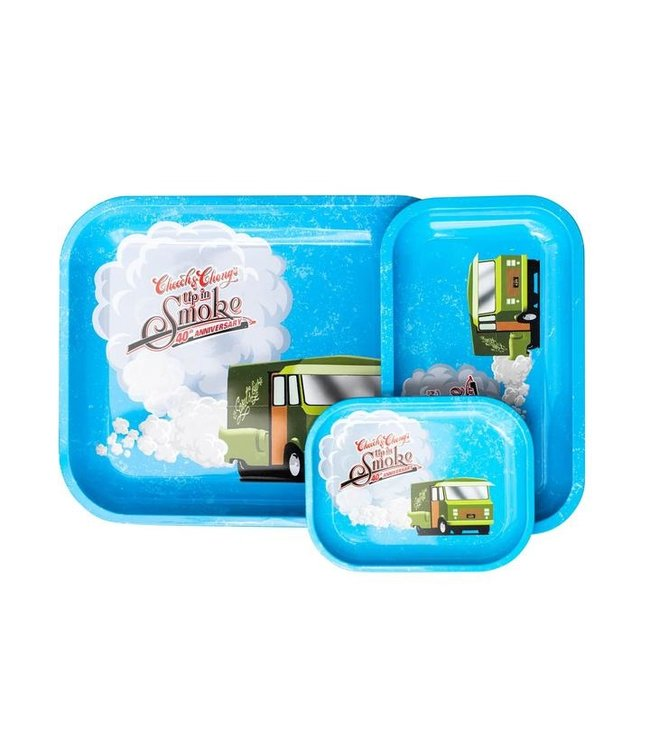 Cheech & Chong Cheech & Chong Rolling Tray - Blue