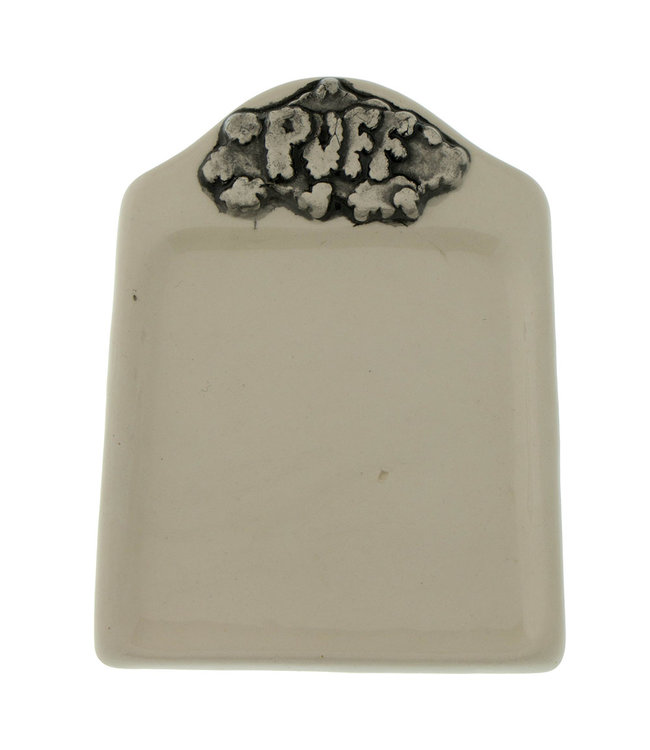 "Puff Buzz Ceramics 4"" x 5"" Puff Rolling Tray"