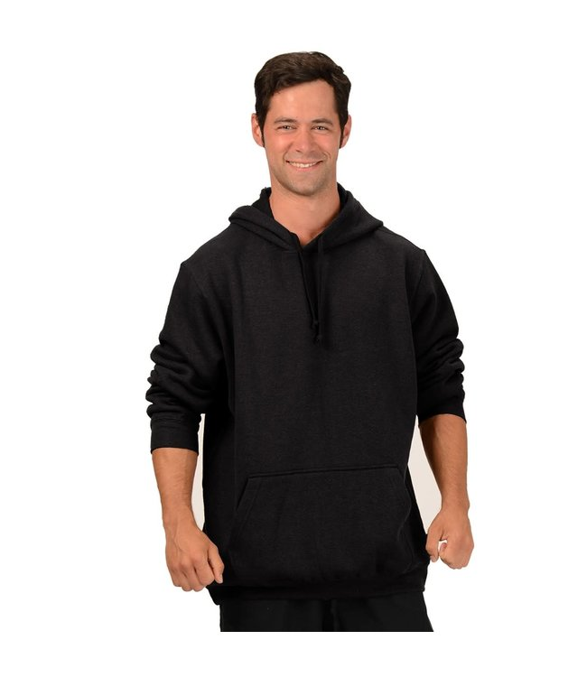 Eco-Essentials Men's Hemp/OC Hoodie Black