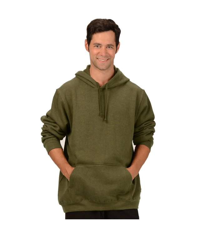 Eco-Essentials Men's Hemp/OC Hoodie Olive