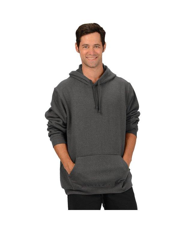 Eco-Essentials Men's Hemp/OC Hoodie Charcoal