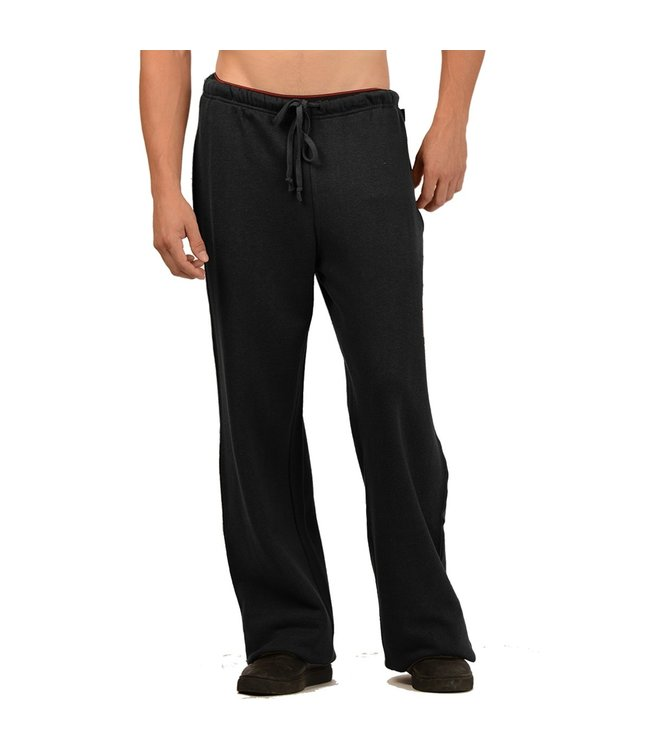 Eco-Essentials Men's Hemp/OC Sweatpants Black