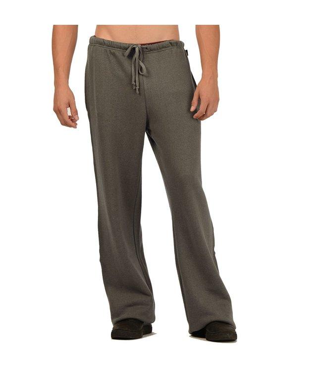 Eco-Essentials Men's Hemp/OC Sweatpants Charcoal