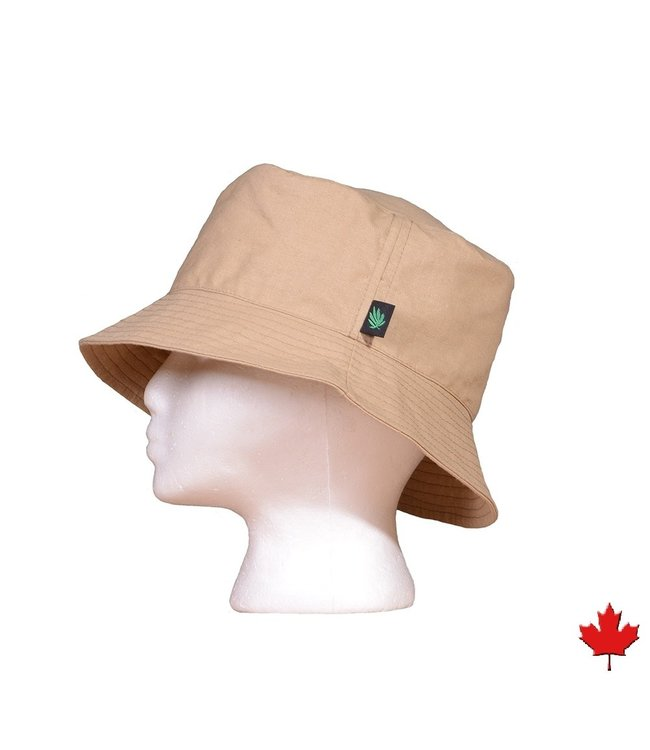 Eco-Essentials Hemp Bucket Hat Taupe