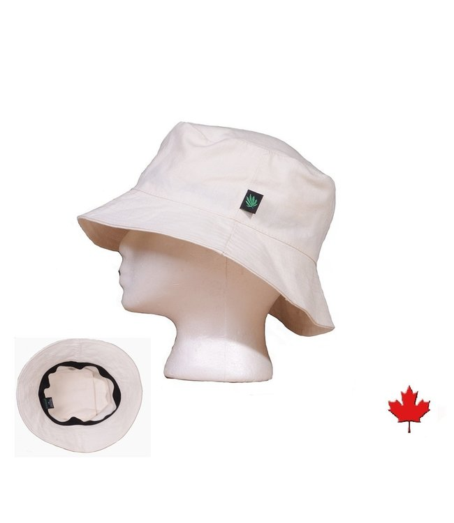 Eco-Essentials Hemp Sun Hat w/ Stash Pocket Natural