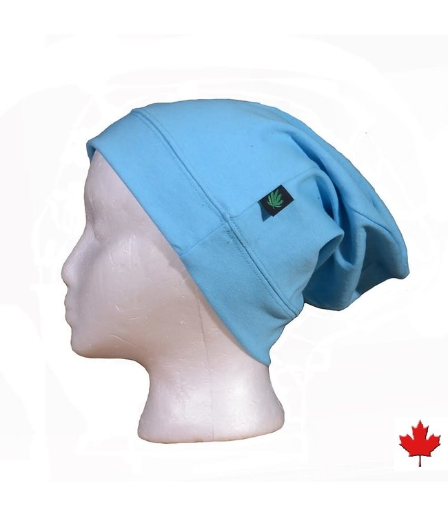 Eco-Essentials Hemp Slouchy Toque Light Blue