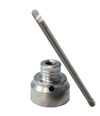 Titanium 10mm Carb Cap Single Hole w/ Dabber