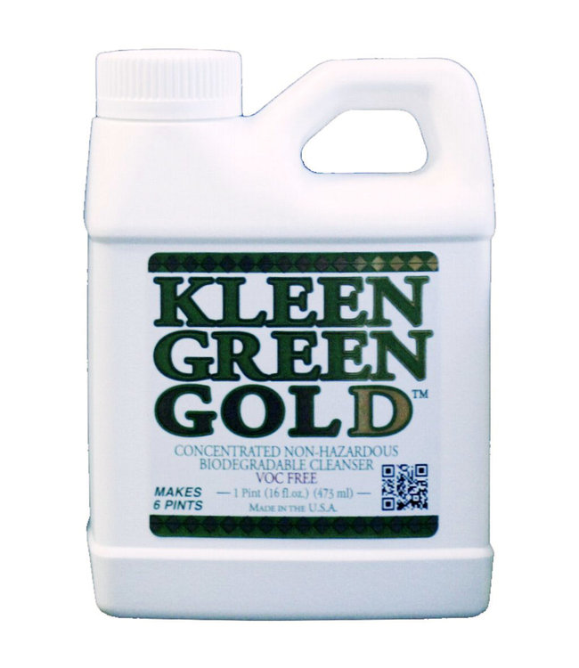 Celebration Pipes Kleen Green Gold 16oz Concentrated Cleanser