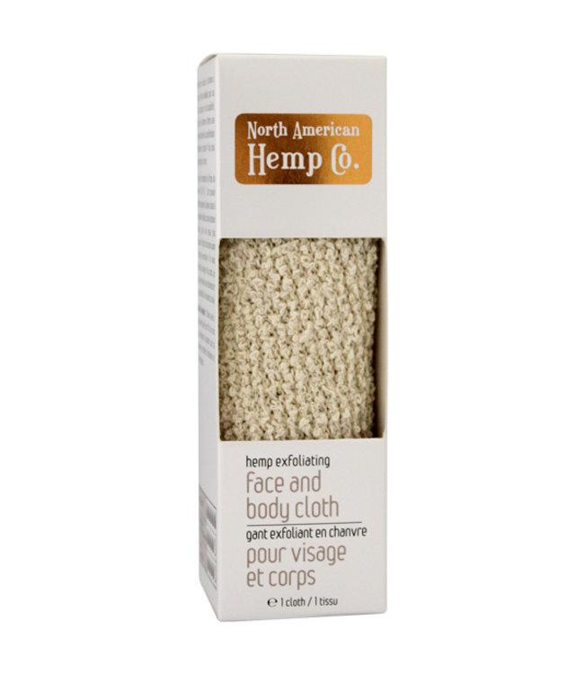North American Hemp Co. N.A.H.C.  Hemp Face Cloth