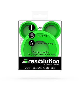 """ResOlution ResOlution Caps """"Res Caps"""" - Green"""