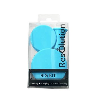 ResOlution ResOlution Rig Kit - Cleaning Carrying Scent Stopping - Blue
