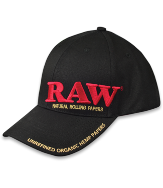 RAW RAW Black Poker Hat