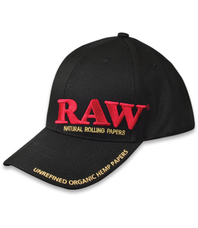 RAW RAW Black Poker Hat