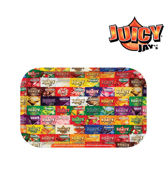 Juicy Jay's Juicy Jay's Rolling Tray Small 27.5cm x 17.5cm x 2cm