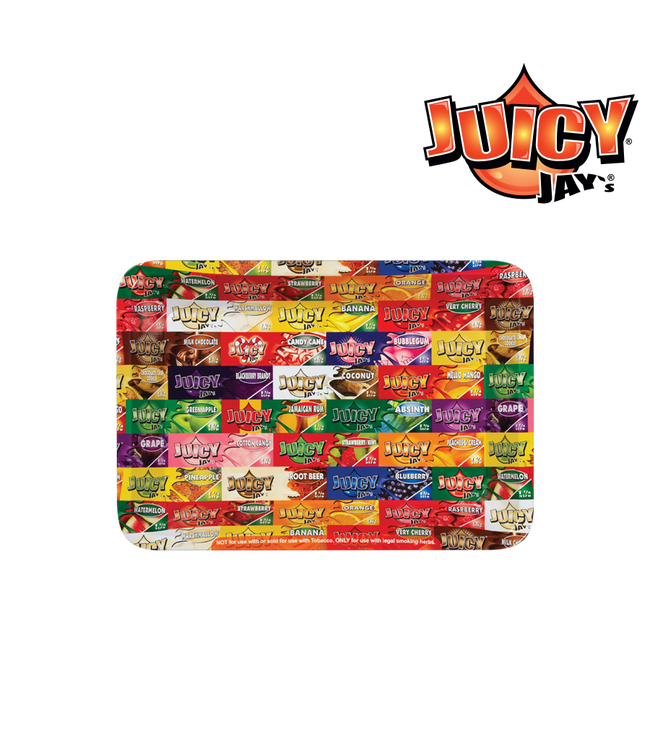 Juicy Jay's Juicy Jay's Rolling Tray Mini 18cm x 12.5cm x 2.2cm