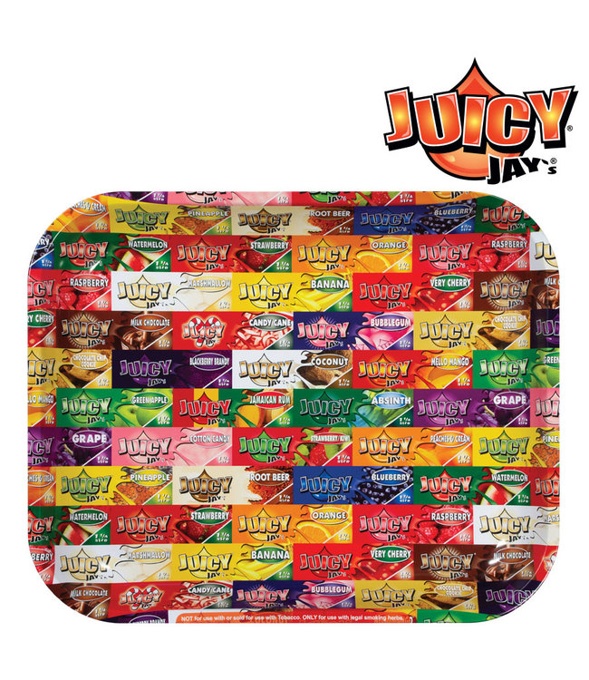 Juicy Jay's Juicy Jay's Rolling Tray Large 34cm x 27.5cm x 3cm