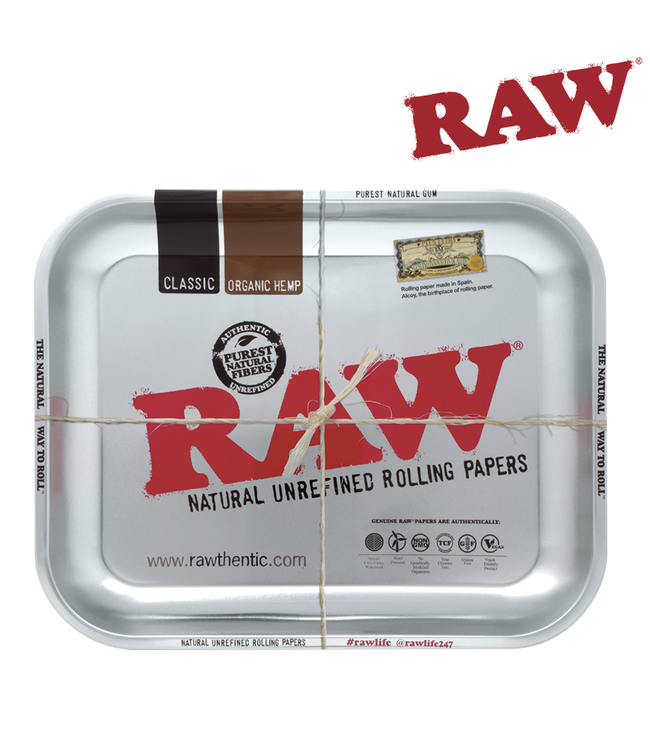 RAW RAW Steel Rolling Tray