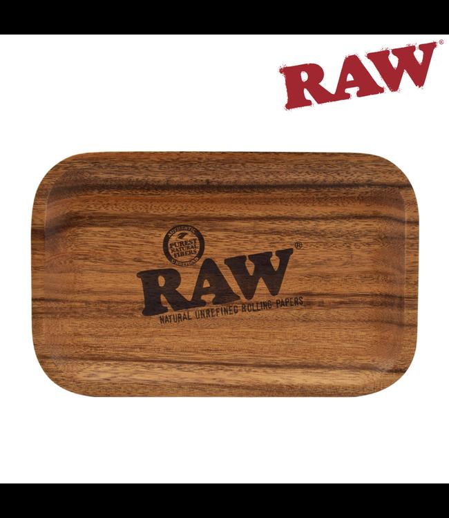 RAW RAW Wood Rolling Tray 27.5cm x 17.5cm