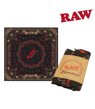 RAW RAW Black Bandana
