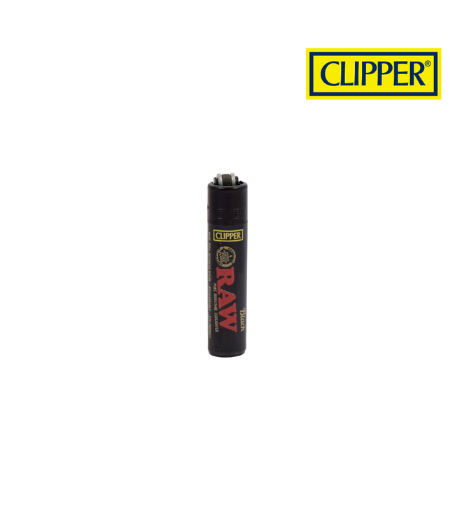 RAW RAW Black Clipper Micro Refillable Lighter