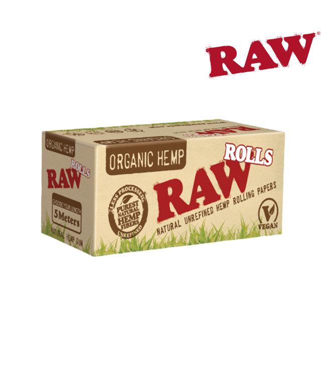 RAW RAW Organic Hemp Rolls 5m