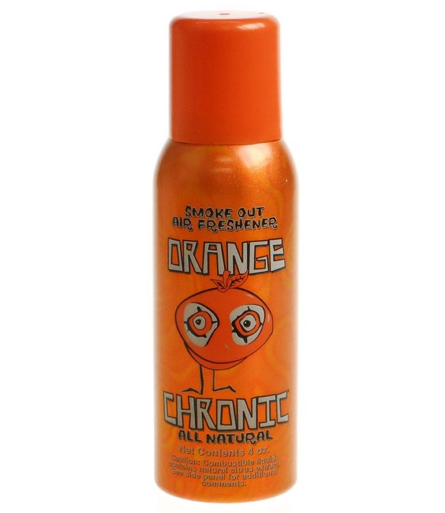 Orange Chronic Orange Chronic Smoke Out Air Freshener 4 oz