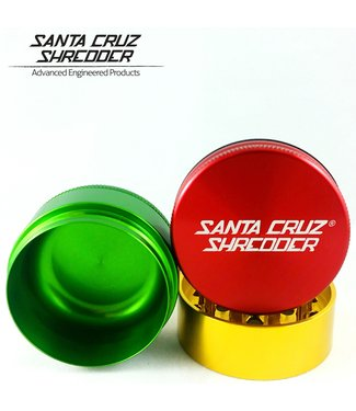 "Santa Cruz Shredder Santa Cruz Shredder 2.75"" 3-Piece Grinder"