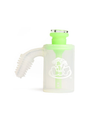 "LIT Silicone LIT Silicone 3"" Ash Catcher Glow-in-the-Dark"