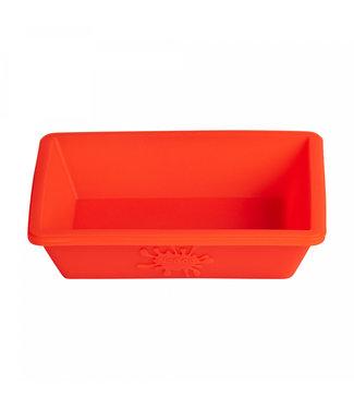 NoGoo NoGoo Nonstick Silicone Small Dish - Red