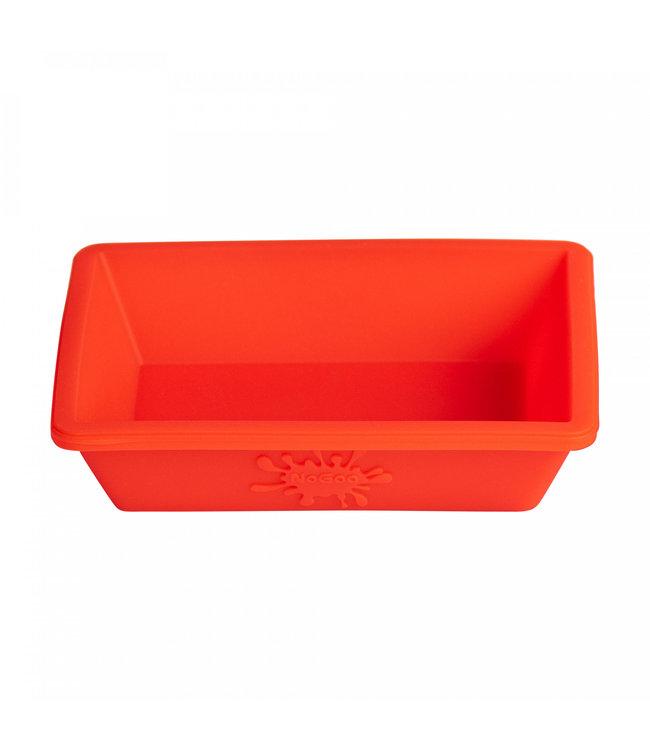 NoGoo Nonstick Silicone Small Dish - Red