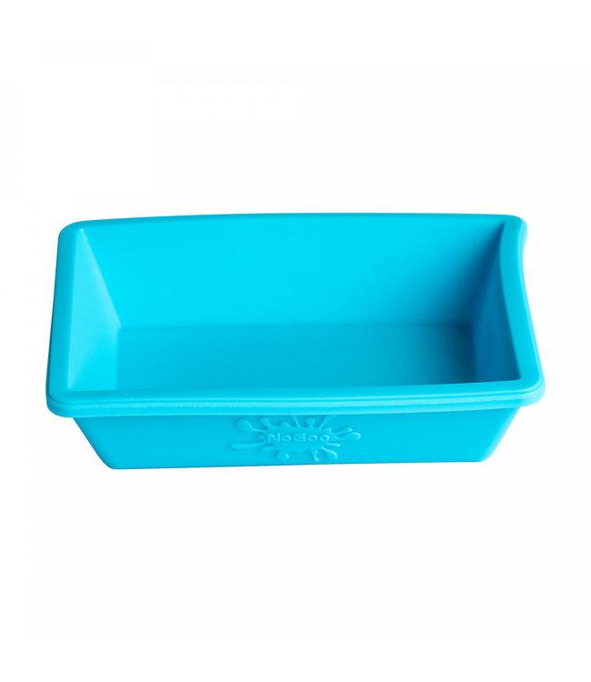 NoGoo Nonstick Silicone Small Dish - Blue