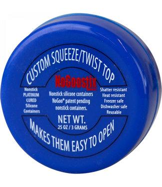 NoGoo Nonstick Silicone Custom Jar