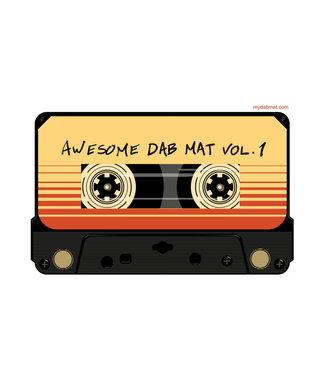 "My Dab Mat My Dab Mat 11"" Silicone Mix Tape"