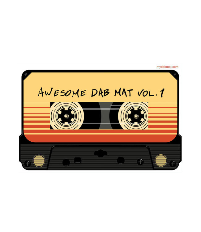"My Dab Mat 11"" Silicone Mix Tape"