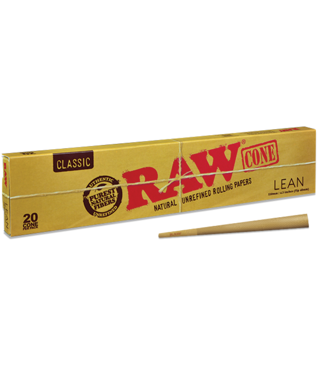 RAW RAW Classic Cones Lean 20-pack