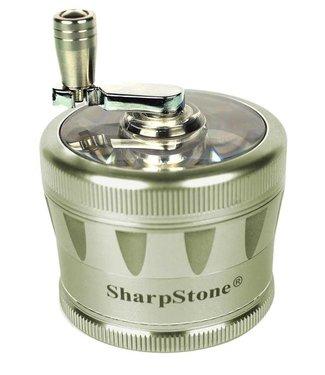 "SharpStone SharpStone 2.5"" 4-Piece V2 Grinder w/ Crank"