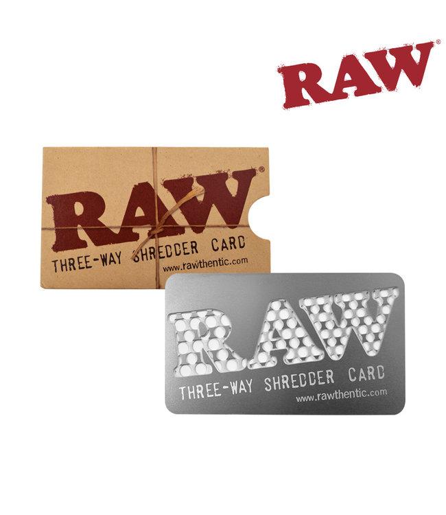RAW RAW Shredder Card