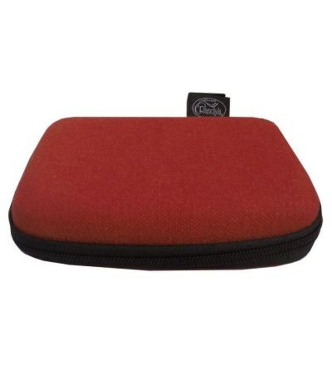 "Randy's Randy's Hemp Shield - Quad 4"" x 6"" - Red"