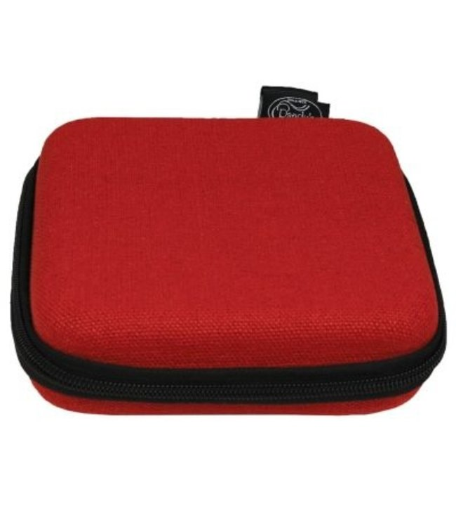 "Randy's Randy's Hemp Shield - Square 6"" x 6"" - Red"