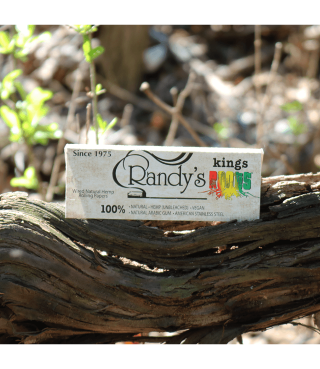 Randy's Randy's Roots Hemp Unbleached King Size