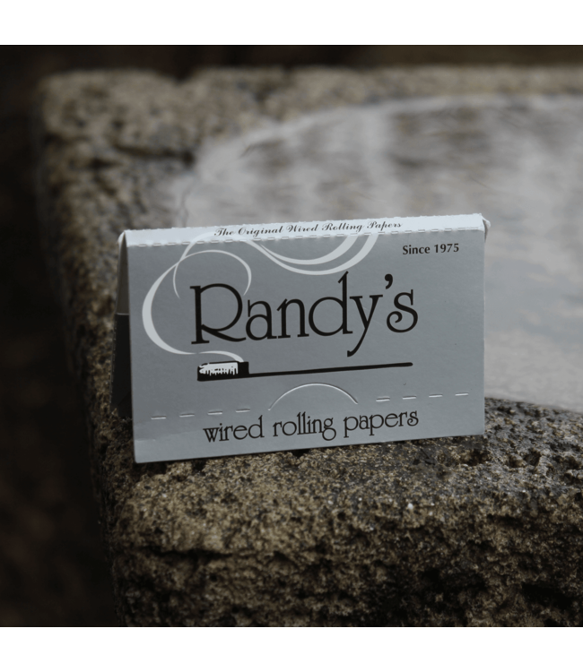 Randy's Randy's Silver Rolling Papers 1 1/4