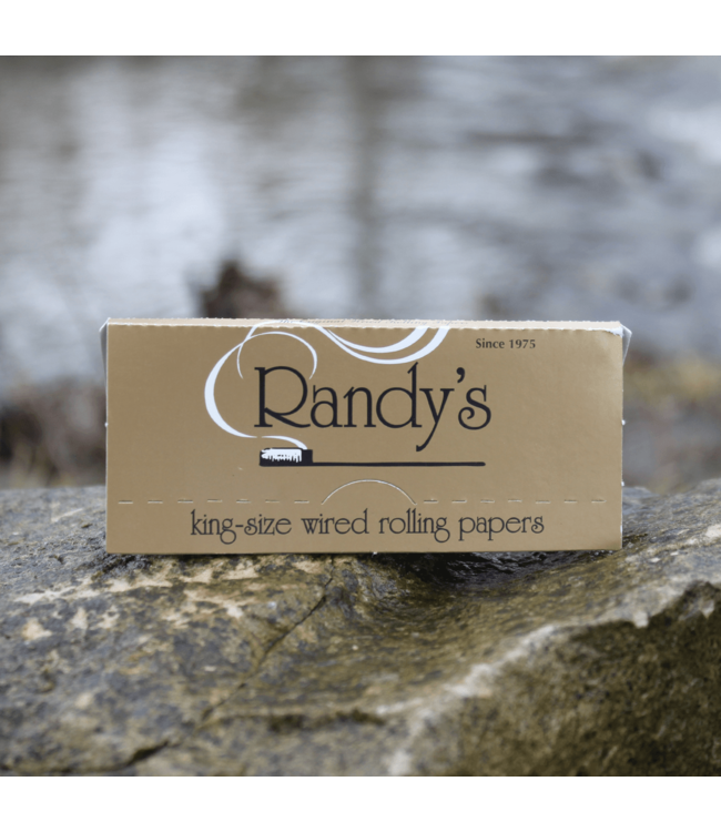 Randy's Randy's Gold Rolling Papers King Size