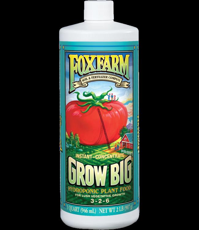 Foxfarm FoxFarm Grow Big Hydroponic Liquid Concentrate 1 Quart
