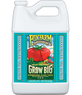 Foxfarm FoxFarm Grow Big Hydroponic Liquid Concentrate 1 Gallon
