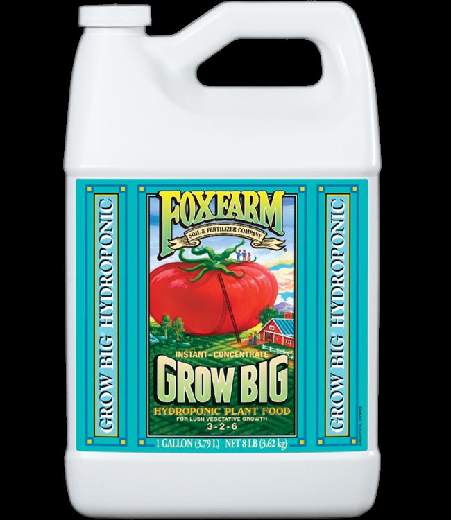 Foxfarm FoxFarm Grow Big Hydroponic Liquid Concentrate 1 Gallon