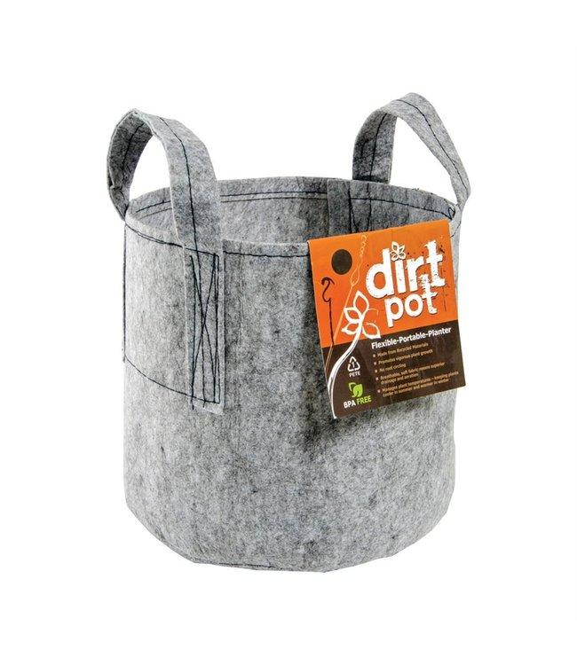 Hydrofarm Dirt Pot, 5 Gallon w/Handle