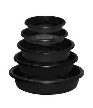 """Mondi 6"""" Round Super Saucer, Black"""