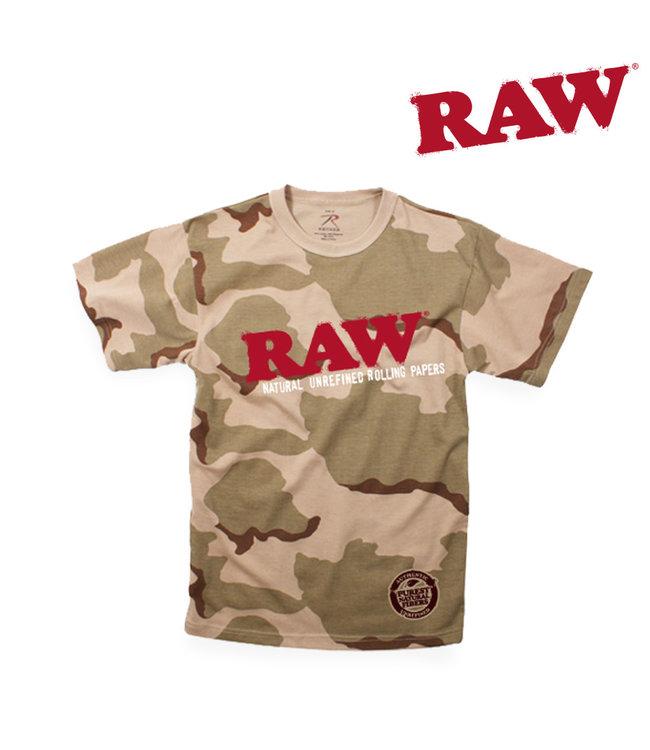 RAW RAW Men's Camo T-shirt